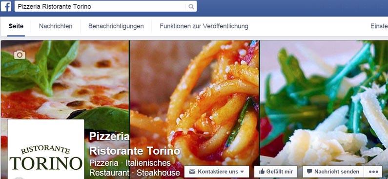 Torino auf Facebook